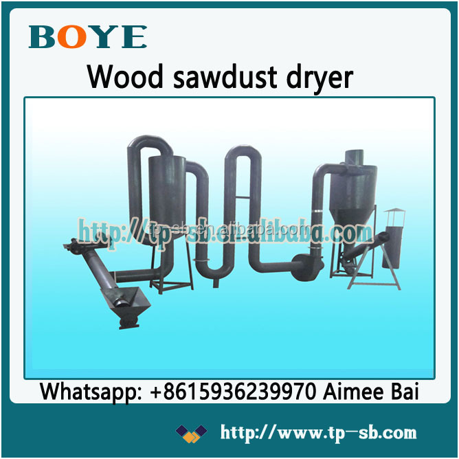 CE approved low prices wood sawdust block air flow sawdust dryer for sale