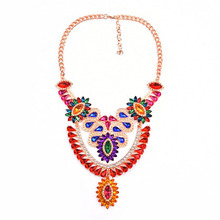 fashion jewelry 2017 new product candy color necklace pendant