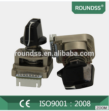 Roundss rotary switch including inhibit and parity signal digital switches