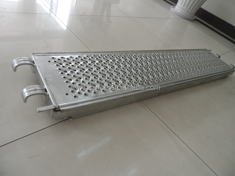 Metaltech Steel Scaffolding Walk Planks With Perforated Design In Layher T4 Style