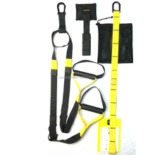 hot sale crossfit suspension trainer set for door gym exercise