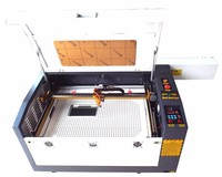 CE approved co2 cnc laser for Wood, Acrylic, MDF, Leather