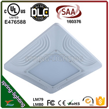 UL DLC gas station led canopy lights 100w 120w 150w 180w 200w led high bay lights
