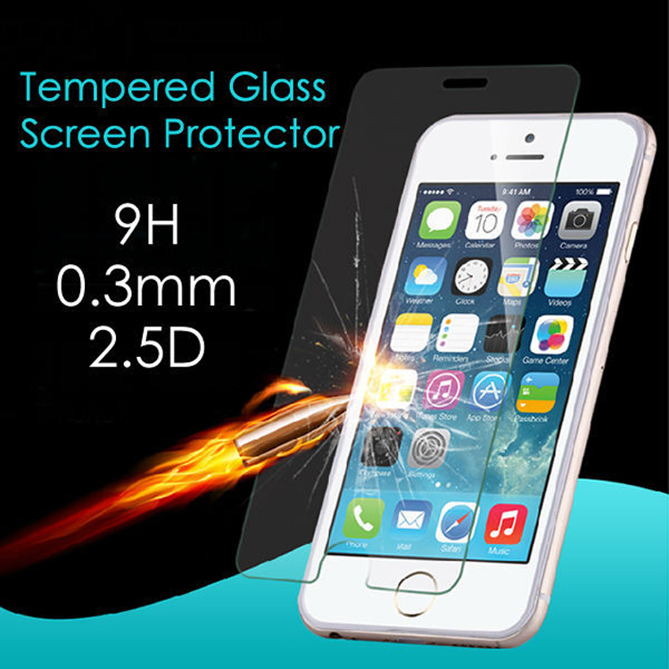 Cell Phone Accessory 9H High Clear Tempered Glass Screen Protector For HTC One A9