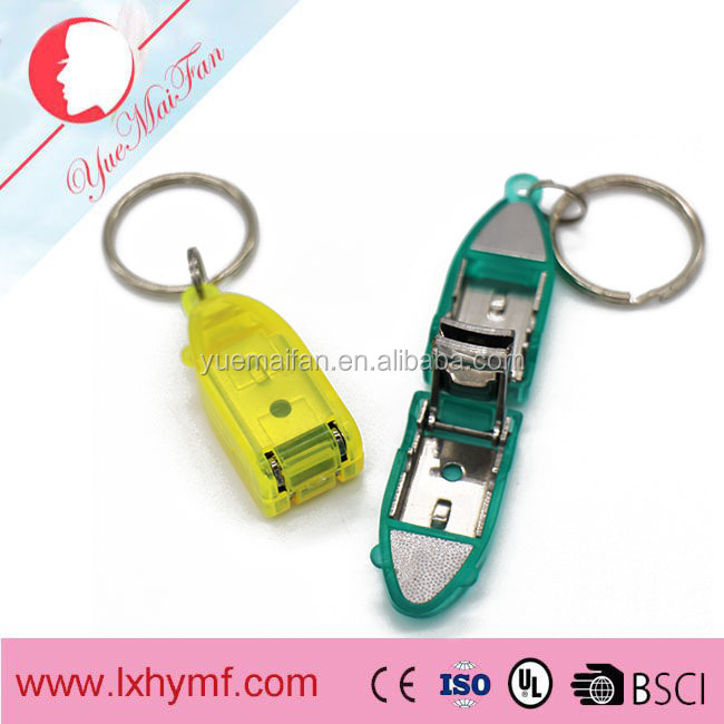 Colorful Plating New Design Nail Clipper with Plastic Cover