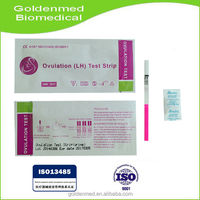 Sale!!Free Sample Supplied with high quality One Step LH Ovulation Test kit strip/cassette/midstream