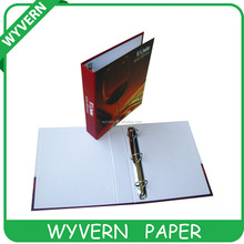 4C Pringtng paper 3 ring binders with cheap price