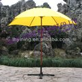 6' wood garden promotion parasol for coffe shop