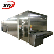 Vegetable and Fruit IQF Tunnel Blast Freezer