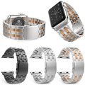 Luxury 5 Links Stainless Steel Strap Band for Apple Watch , for Apple Watch Strap