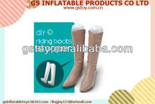 PVC inflatable boot supports EN71 approved