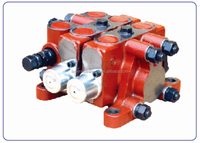ZL 15.2 series hydraulic sectional manual directional control valve