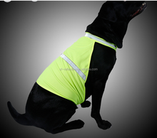 China new style pet dog reflective clothes vests hunting dog vest for safety