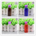 50ml 4 Colors Snap Tops Plastic Bottle