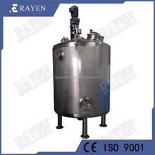 SUS304 or 316L refrigerated tank milk cooling and storage tank