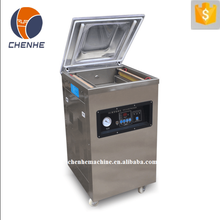 DZ400 Semi-automatic single chamber vacuum packing machine with wheels for food