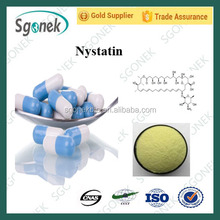 Best selling nystatin / nystatin powder BP/EP/USP/CP CAS:1400-61-9