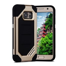 For Samsung Galaxy S8 Case 2 in 1 Rubber PC TPU Shockproof Armor mobile phone accessories case for samsung s8