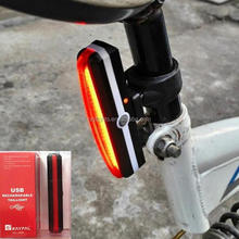 RAYPAL 2266 Mountain Bike Night Ride Bicycle Tail Warning Light USB Charger Safety Light