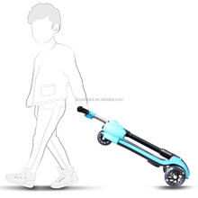 2017 new kids kick scooter with adjustable height and aluminum T-bar/4 wheels PU scooter
