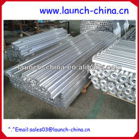 round and square glass fence post aluminum