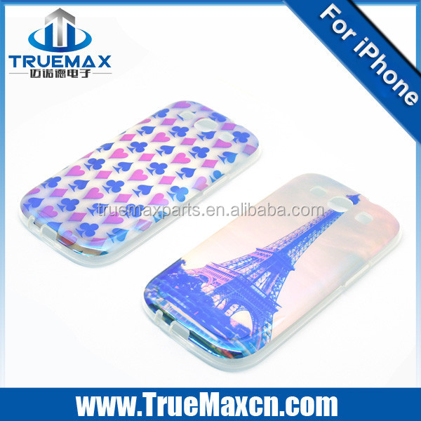 2015 New Arrival for Samsung S3 i9300 i9305 Mirror Soft Case