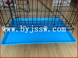 Discount Cat Breeding Cages With Wheels And Plastic Tray