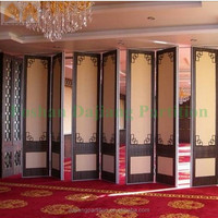Banquet Hall Antique Chinese Wooden Folding Room Divider