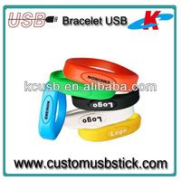 Gift for promotion usb flash drive waterproof bracelet