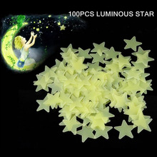 Home decor luminous star glow in the dark sticker