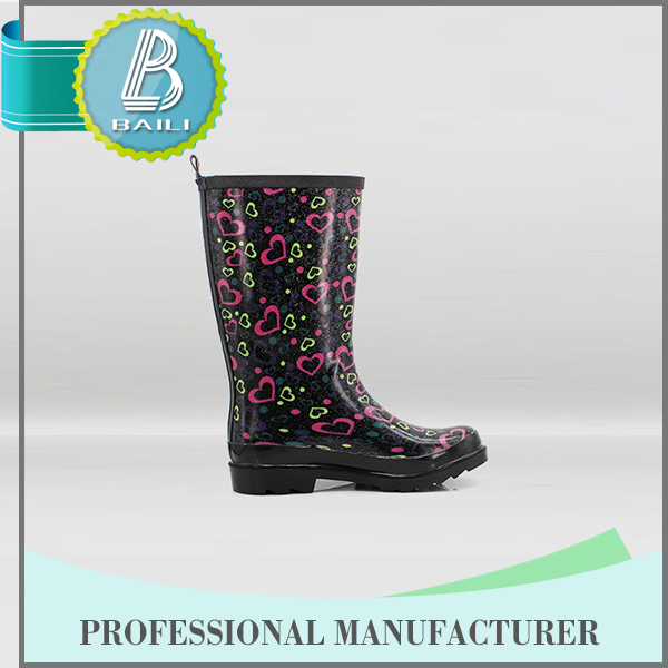 Made in china Low price Rubber Rain open toe boots
