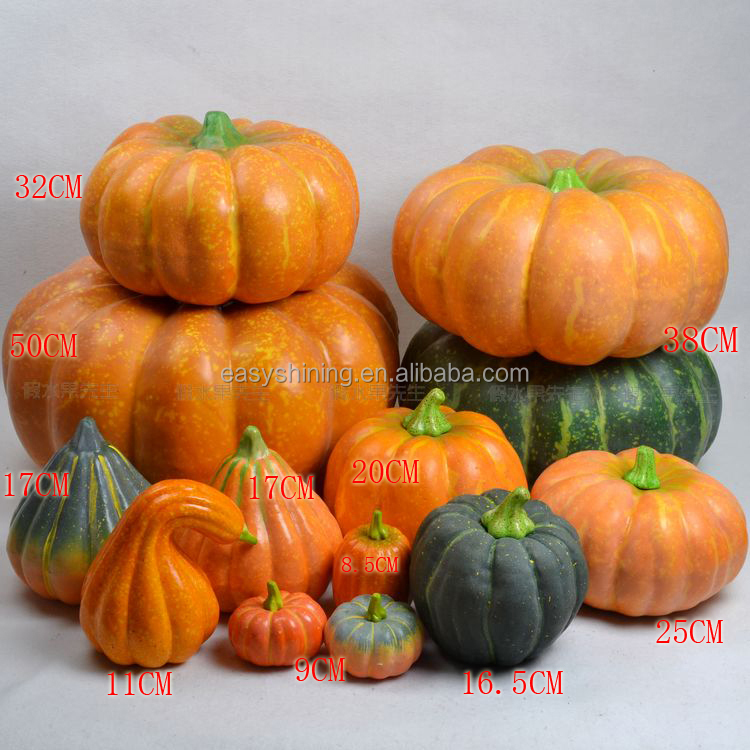 Very cheap price Autumn wholesale pumpkin large foam pumpkins ESH0007