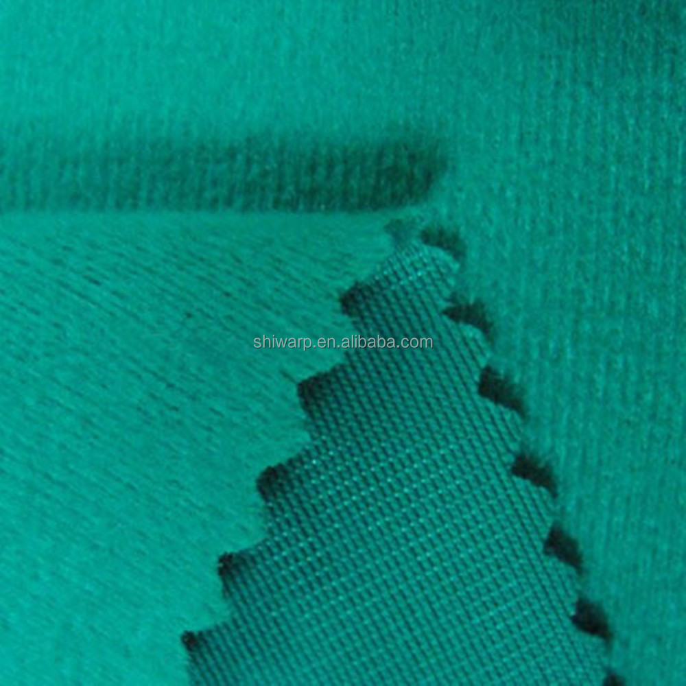 Shoes garment material brushed Mercerized velvet fabric by china manufacturer