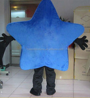 star mascot costume star costume star cosplay cartoon blue star cartoon costume