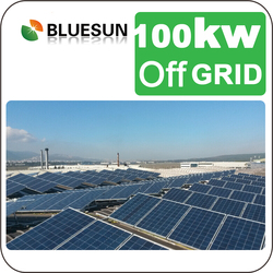 Industrial Factory Use 100 kw Off Grid Solar Complete System 100000W Solar Energy System 100KW Solar Panels