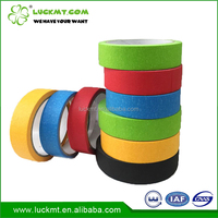 Heat Resistant Multi Colored Car Painting Automotive Masking Tape