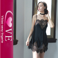 Erotic Transparent Lace Sex Babydoll Dress Sleepwear Sexy Nighty Ladies