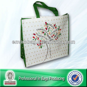 pp non woven eco-friendly shopping bag conserve earth love