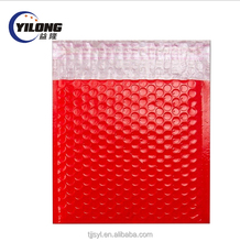Wholesale self adhesive poly envelopes clear mailers plastic colorful mailing bags 4x8 bubble mailer