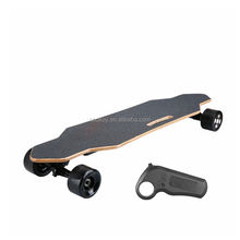 ESB05D Wooden Long Maple Electric Skateboard With Brushless Dual Motors