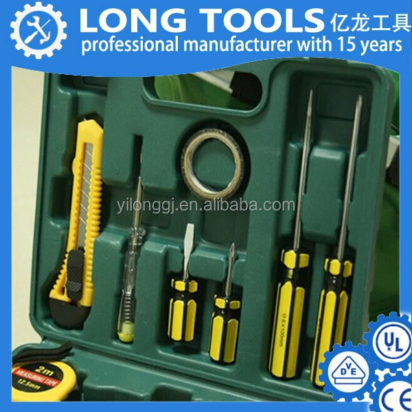 Chinese plastic box professional tools for lady engine tool set