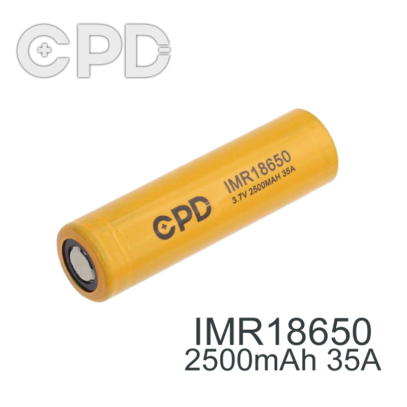 china best li-ion aw imr 18650 3.7v 2000mah rechargeable battery for cpd battery