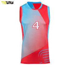 sleeveless design your own volleyball jersey