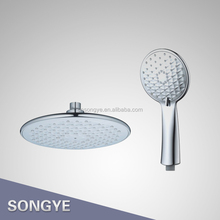 9 INCH Plastic shower head set bathroom shower set