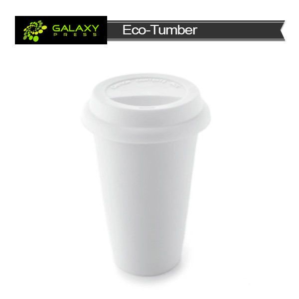 Blank sublimation ceramic white mug starbucks tumbler
