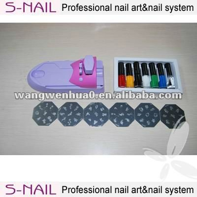 Fashion nail art kit, nail art printing FOR girls