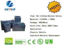 Golf cart/ Eletric vehicle / Lead-acid Battery Replacement / Solar, Wind System Lifepo4 / Li-ion Battery Pack 12v100Ah