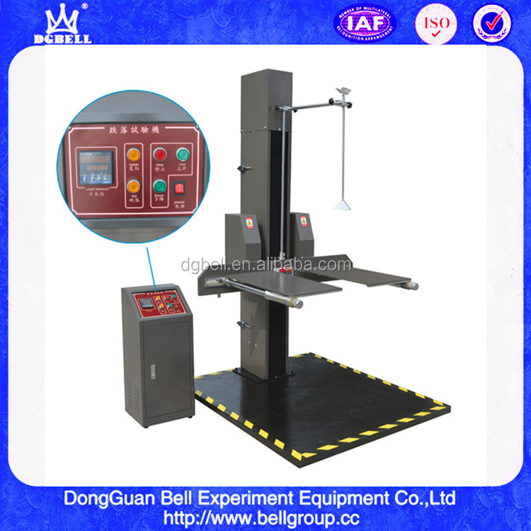 Package or Paper Carton Drop Impact Test Machine/ Drop Test Equipment Price/ Plastic Bottles Drop Tester