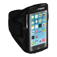 12 Colors Sport Armband Case Running Pouch Phone Bags Cases For iPhone 6 Plus 5.5 inch Cell Mobile Phone Arm