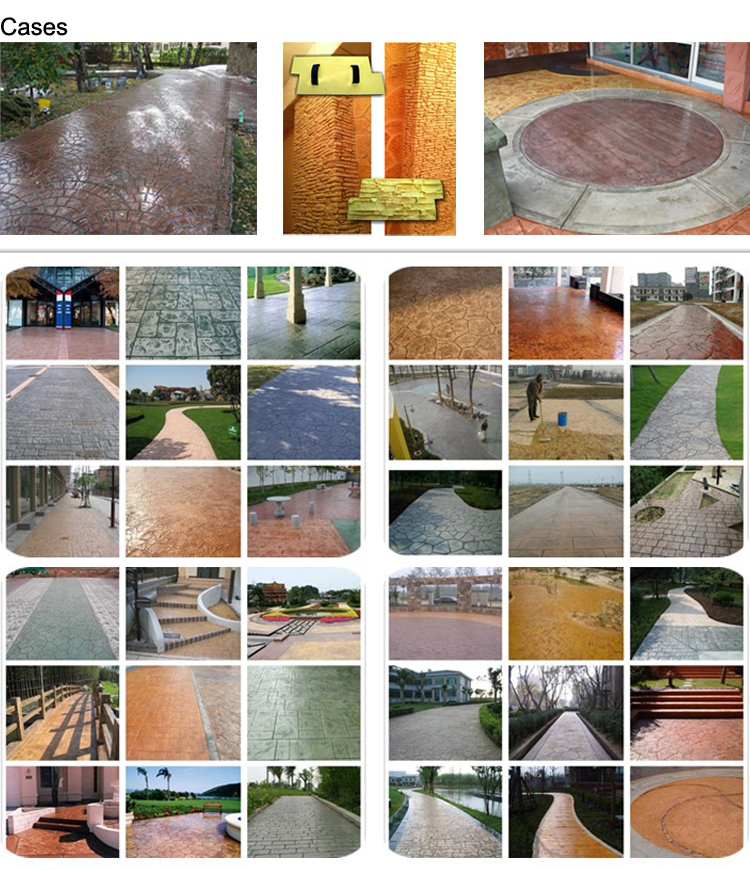 Concrete Stamping Walls Stamped Concrete Stamp Floor Flooring Molds